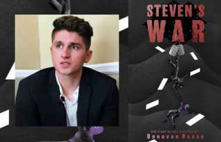 Civilian superman: journalist Donovan Russo's action-packed novel 'Steven's War'