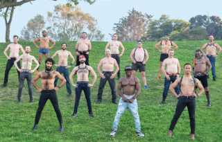 Bare Chest Calendar Men show a little skin for a good cause