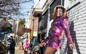 Daytime nightlife in the Castro
