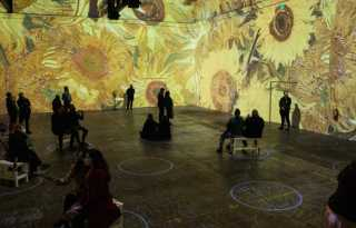 Dutch Crunch: 'Immersive Van Gogh' arrives