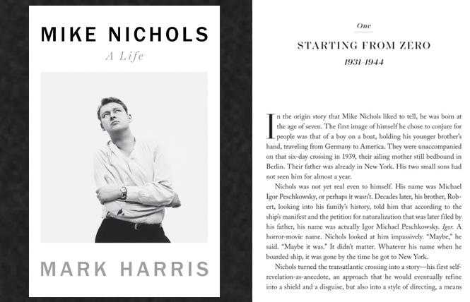Mike Nichols: A Life, celebrated in new biography