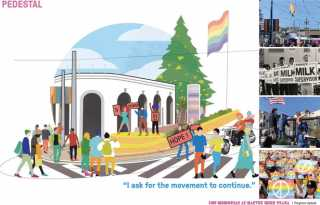 4 design concepts presented for Harvey Milk Plaza renovation project