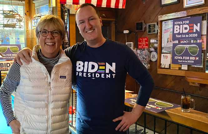 Political Notebook: Group unites women behind Biden, Harris