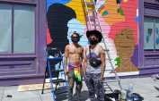 SF LGBT center mural highlights 'Queeroes'