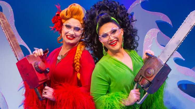 Ernest who? Drag queens really DO save Christmas in The Jinkx & DeLa Holiday Special