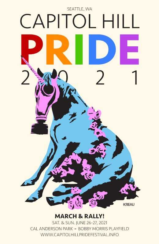 Here are the brands supporting Seattle's Pride events this year