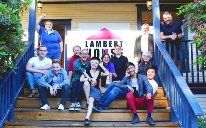Lambert House: Socially distanced but socially connected
