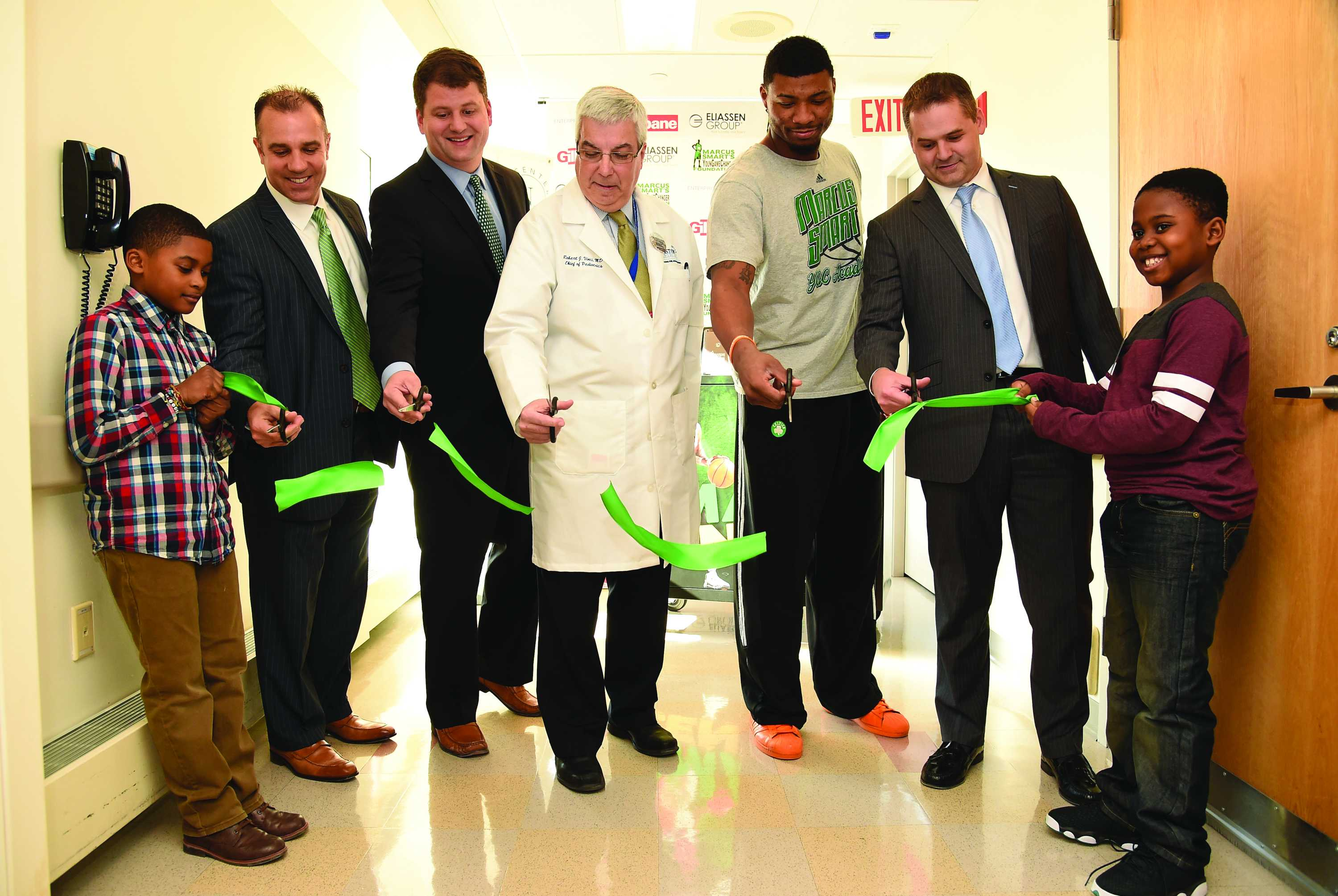 Celtics' Marcus Smart debuts Smart Center