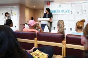 Pine Street Inn Registers Voters