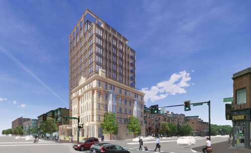 Alexandra Hotel Development Team Files Project Notification Form From Boston Planning and Development Agency/Boston Redevelopment Authority