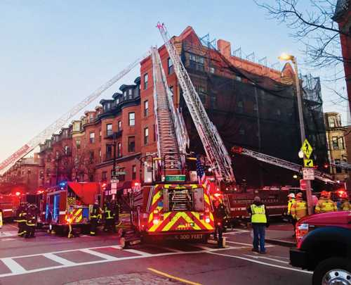 Homes, salon damaged but residents safe in Columbus Avenue fire