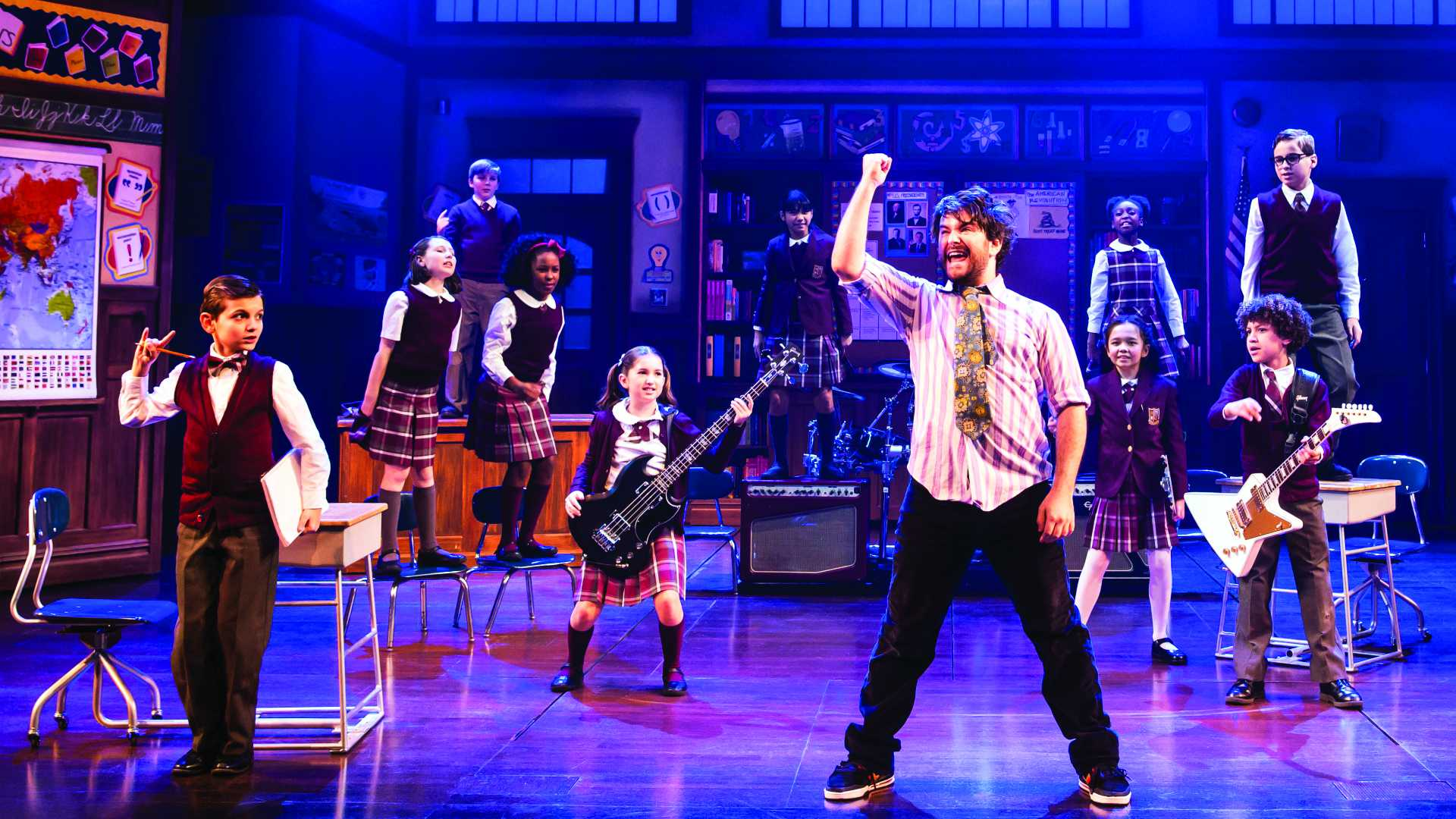 School of Rock Delivers