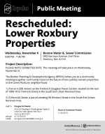 BPDA Reschedules Lower Roxbury Meeting