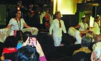 Female mariachi band celebrates Día de los Muertos