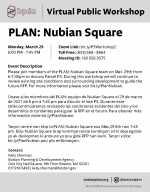 BPDA Announces March 29 Nubian Square Virtual Meeting