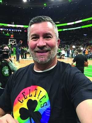 Celtics honor South Ender Marc Davino